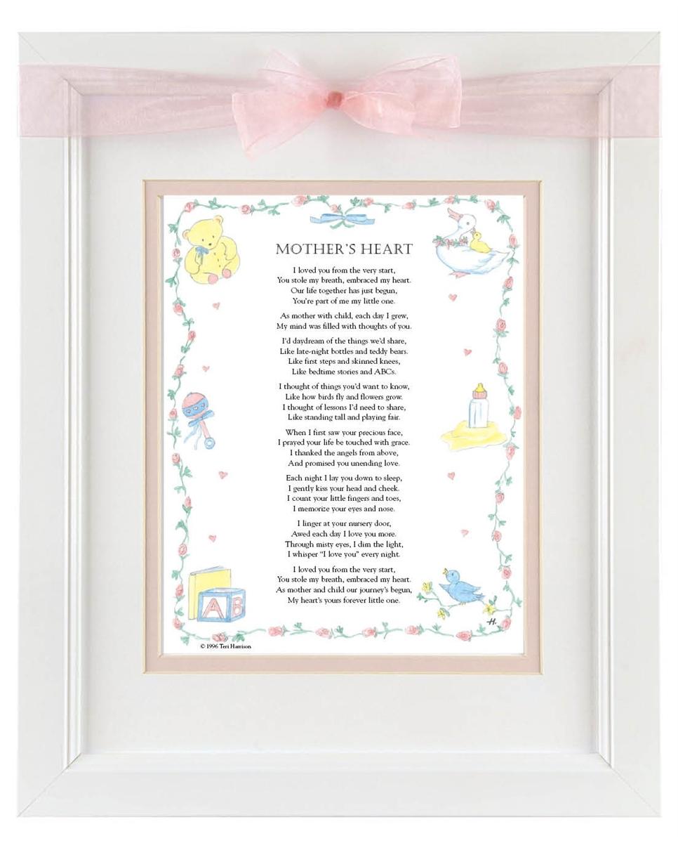 mother framed poem - Mother Frame
