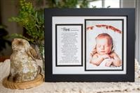 Grandparent Photo Frame First Grandchild