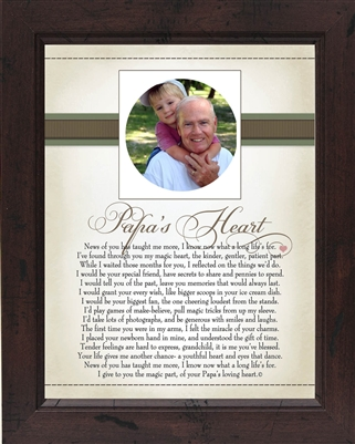 Papa Frame Heart Collection Frame