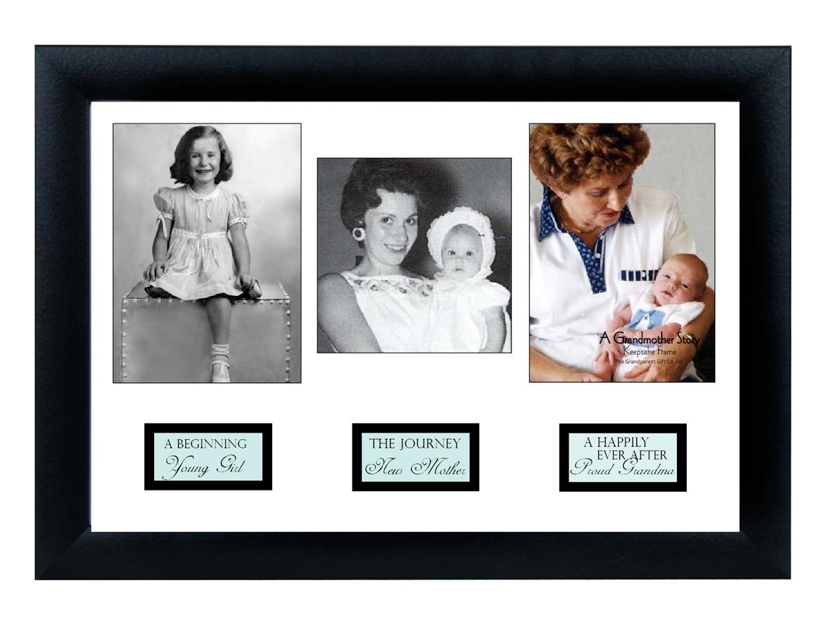 Grandma Photo Frame: Grandma Life Story Frame