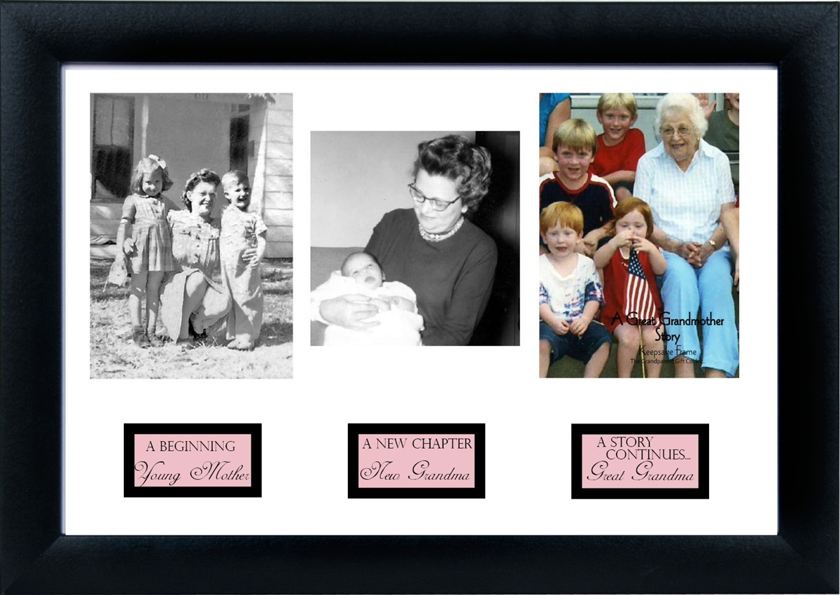 Great-Grandma Photo Frame: Great-Grandma Life Story Frame