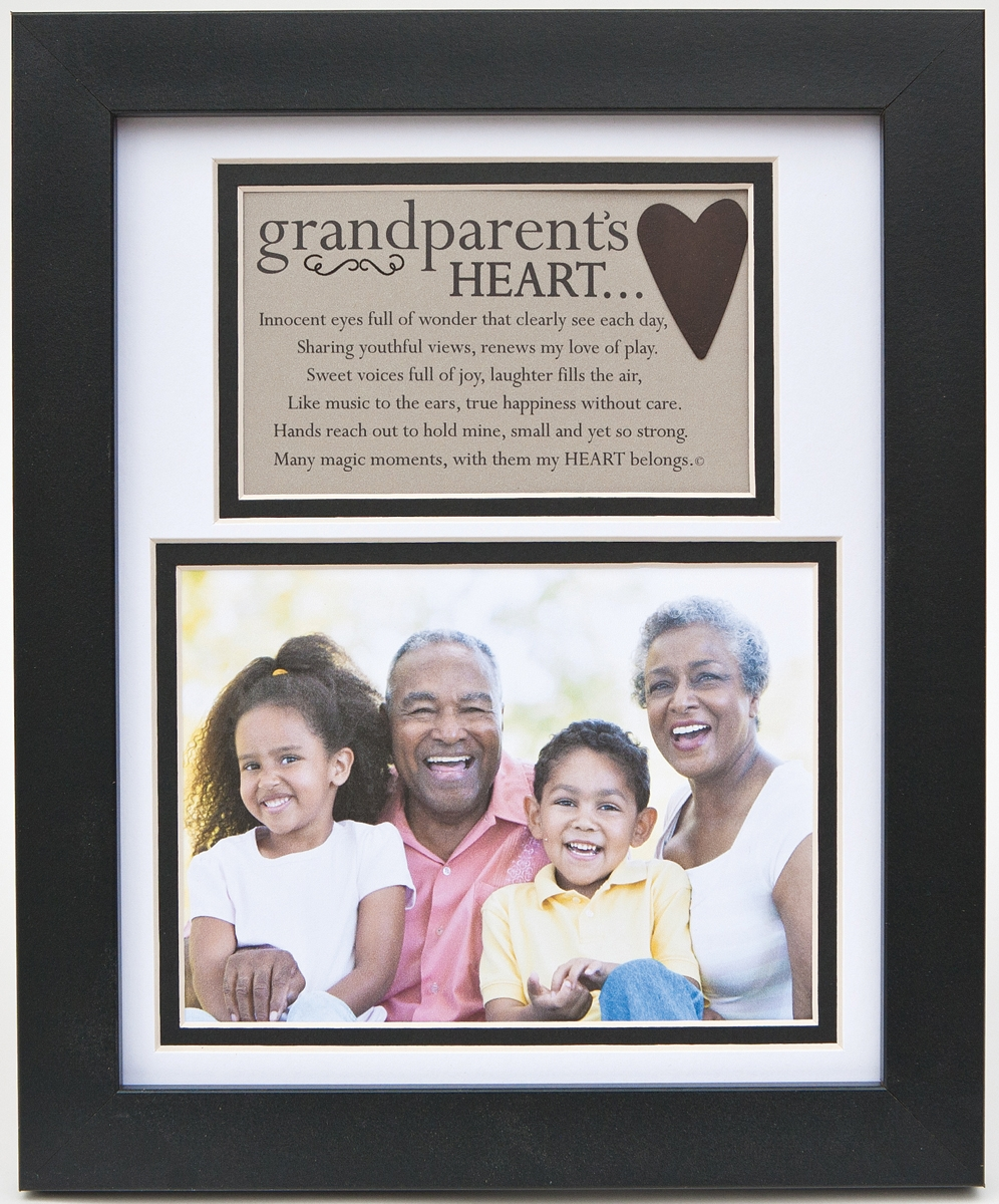 The Grandparent Gift Heart Collection 8x10 Frame Daddys Heart