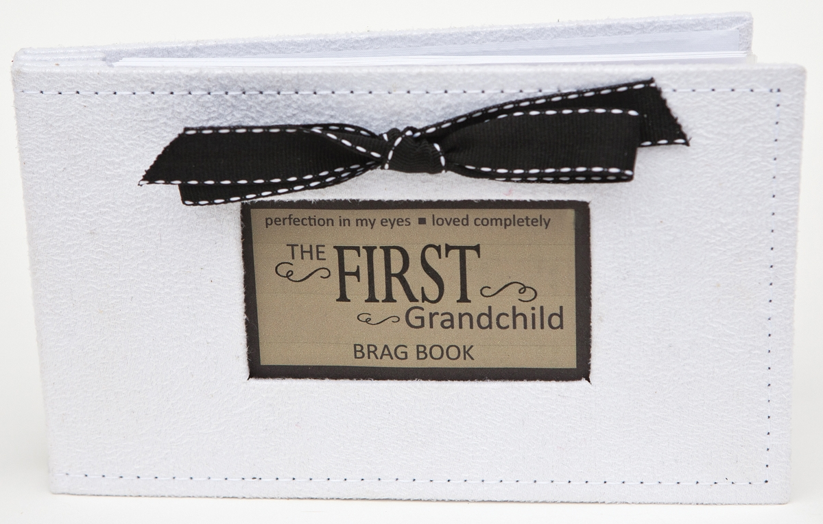 First Grandchild Gift Photo Brag Book