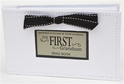First Grandson Gift: Brag Book