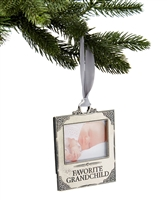 Favorite Grandchild Photo Ornament