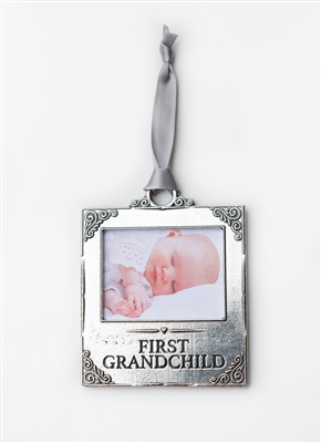 First Grandchild Photo Ornament