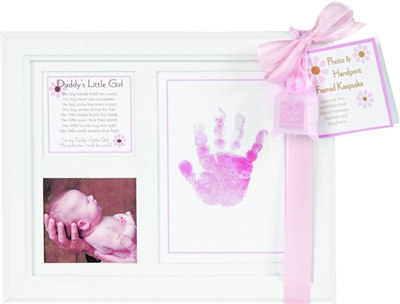 Daddy's Little Girl Handprint
