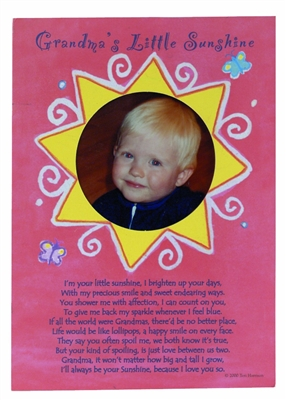 Grandma's Little Sunshine Card