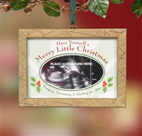 Baby Ultrasound Christmas Ornament