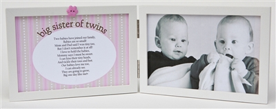 Big Sister of Twins Frame