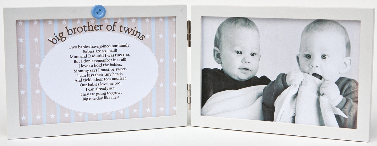 Big Brother of Twins Frame 4x6