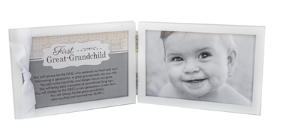 First Great Grandchild Photo Frame