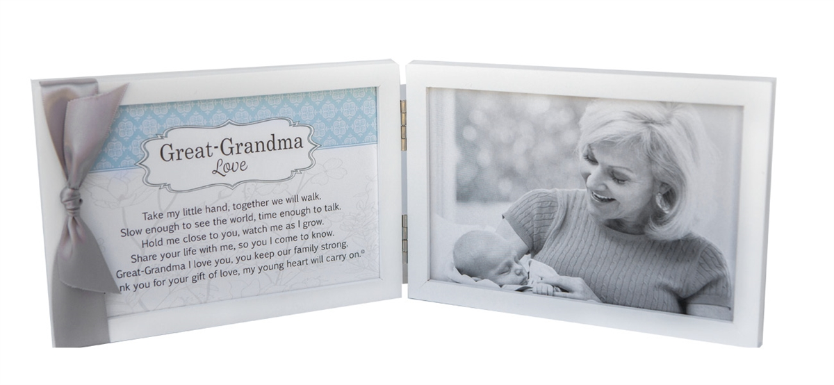 My Great-Grandma Tabletop Picture Frame 4x6