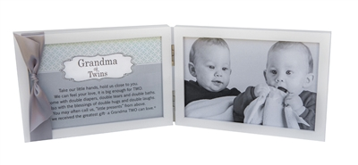 Grandma of Twins Photo Frame