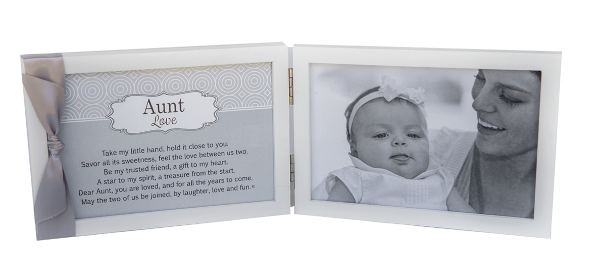My Aunt White Tabletop Picture Frame