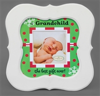 Grandchilds Christmas Frame