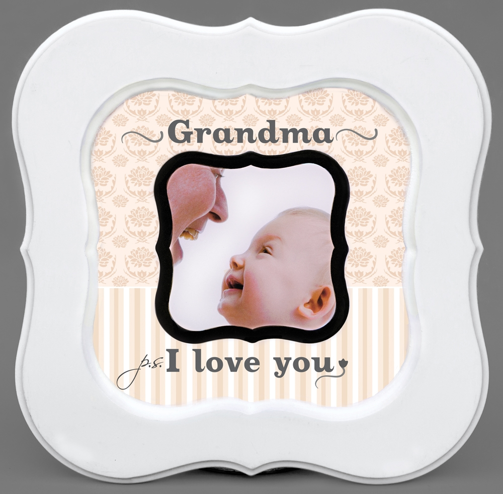 Ps I Love You Grandma Photo Frame