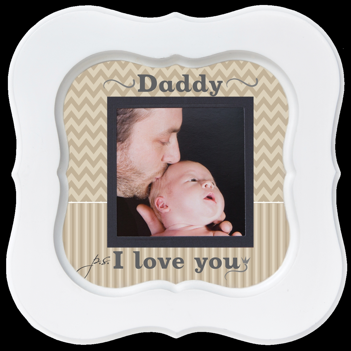 PS I Love You Dad Photo Frame