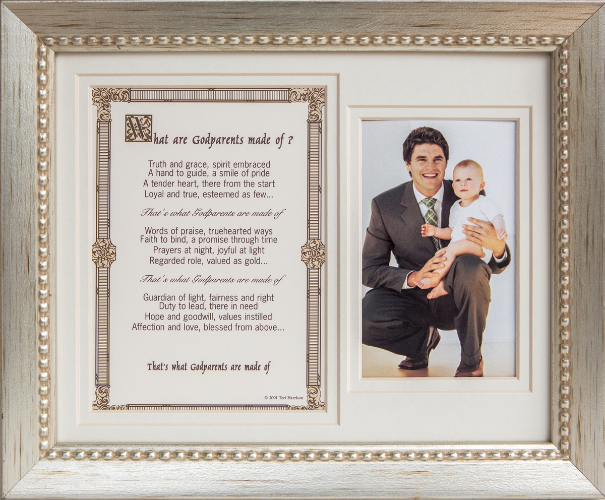 What are Godparents made of 8x10 Frame