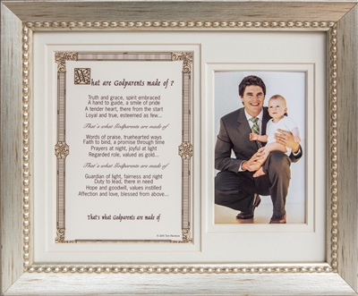 Godparents Made of  8x10 Frame