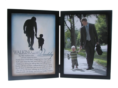 Walking with Daddy Frame