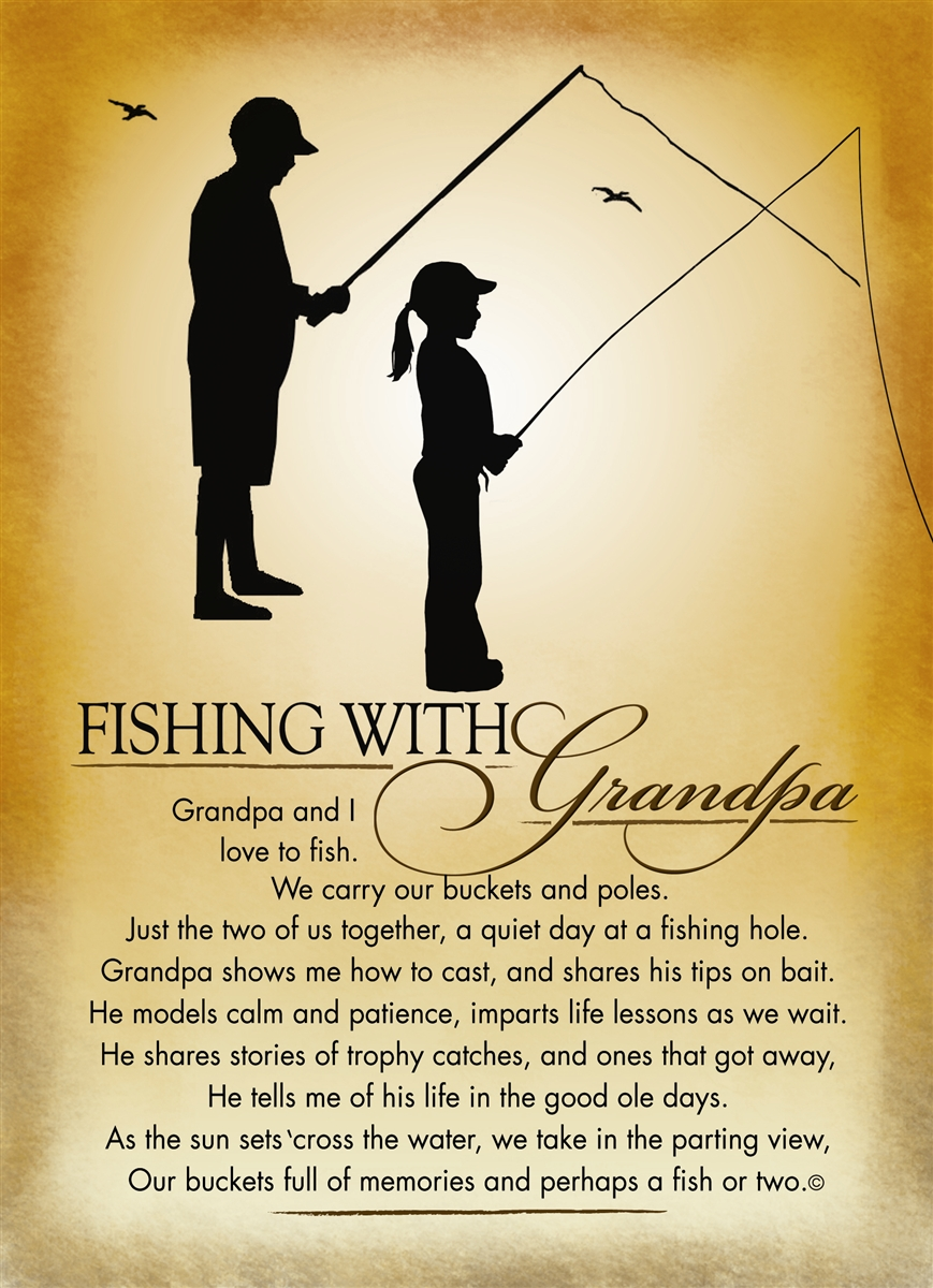 Fishing With Grandpa Frame