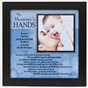 Mommys Hands 8x8 Frame