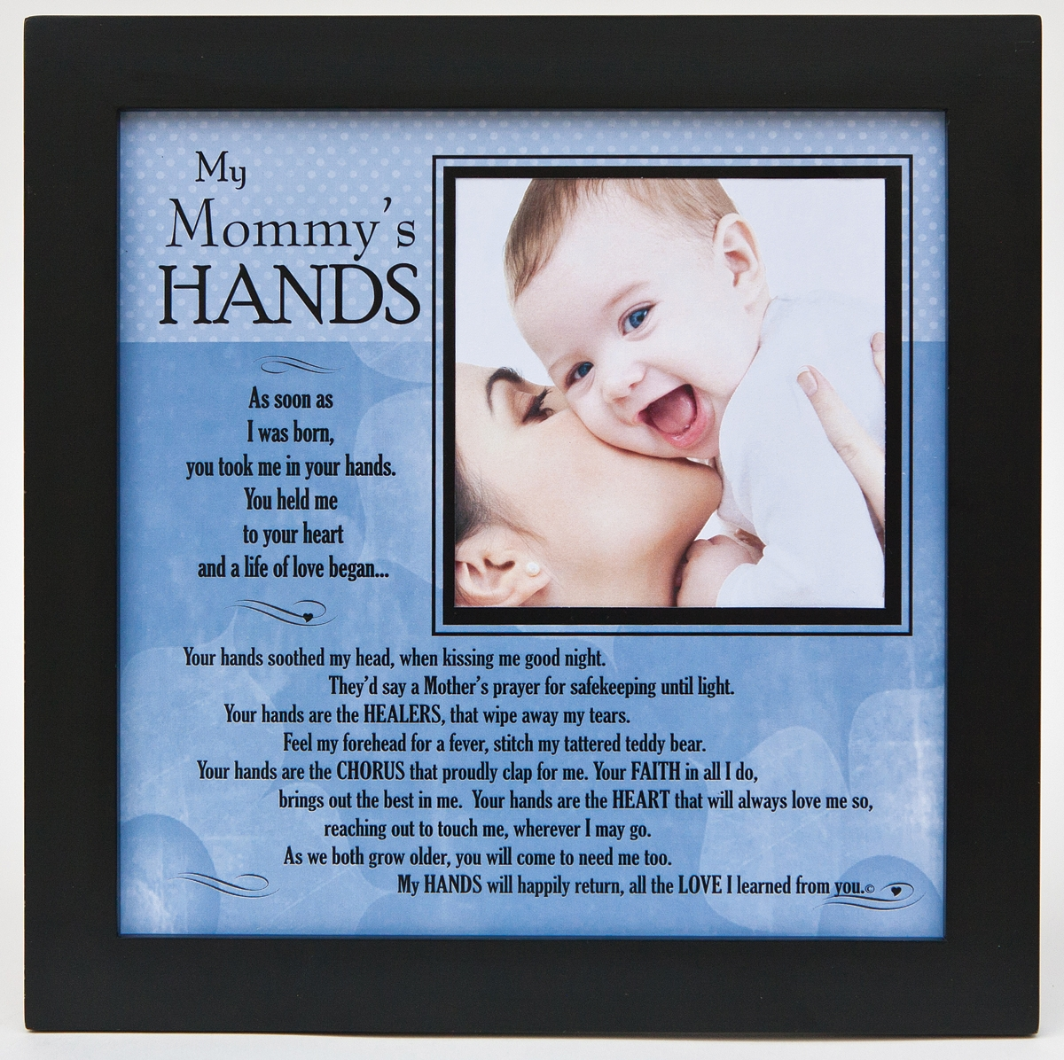 My Mommys Hands 8x8 Frame