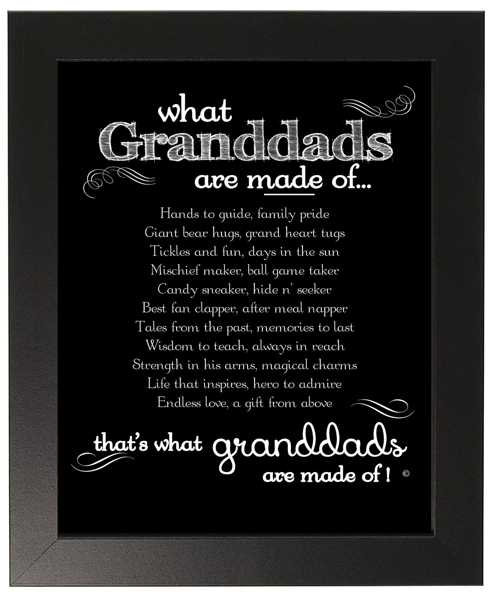 Granddad Frame Granddads Made Of Poem