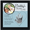Daddy Handprint Frame