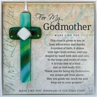 Godmother Glass Cross