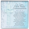 1st Holy Communion Glass Cross