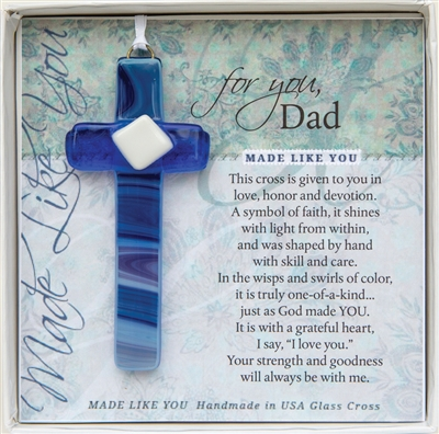 Dad Glass Cross