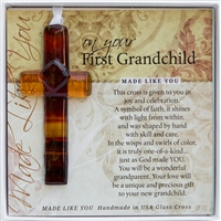 First Grandchild Gift Cross