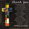 Thank you Gift: Handmade Glass Cross
