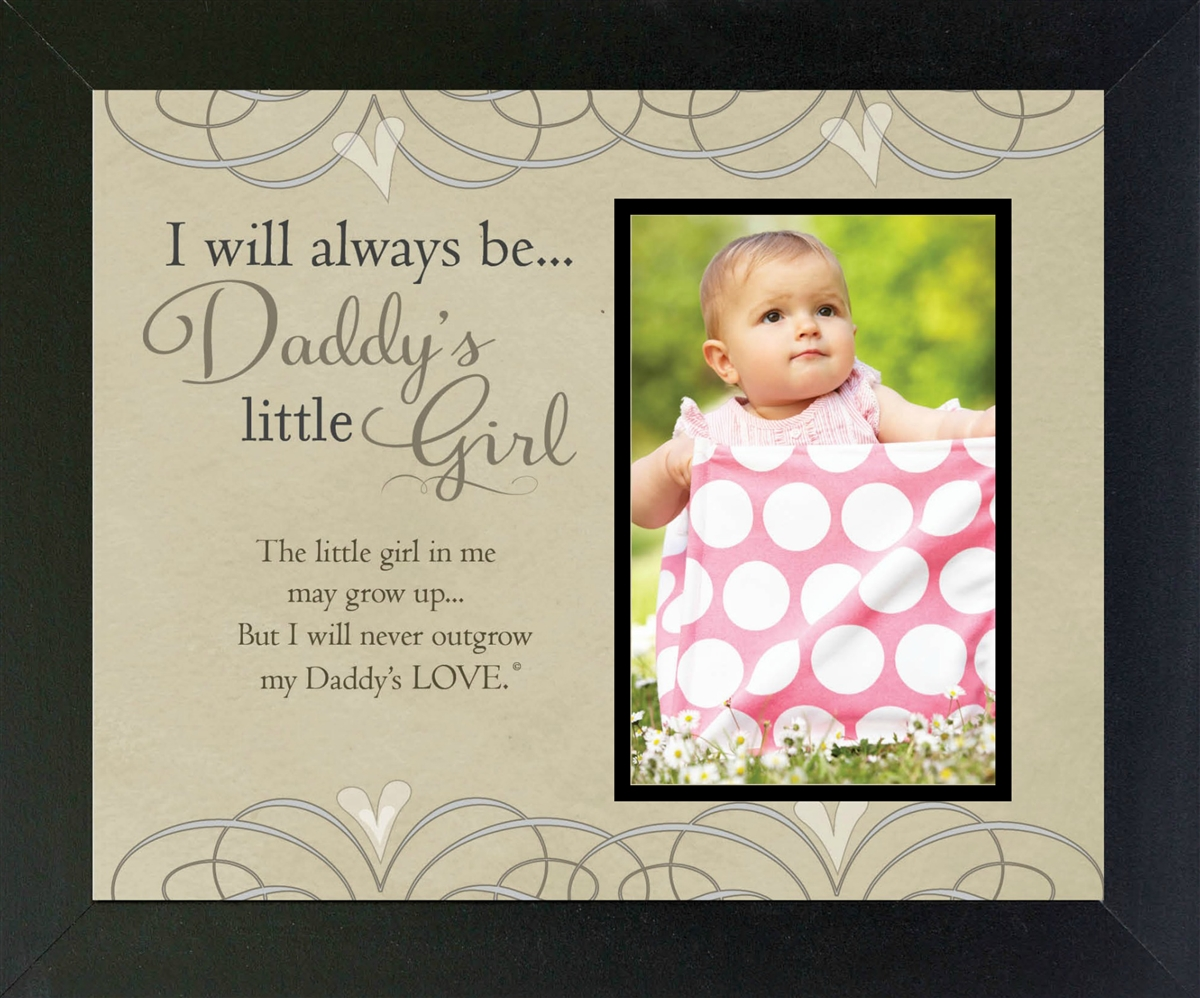 Daddy\'s Girl Frame for Dads