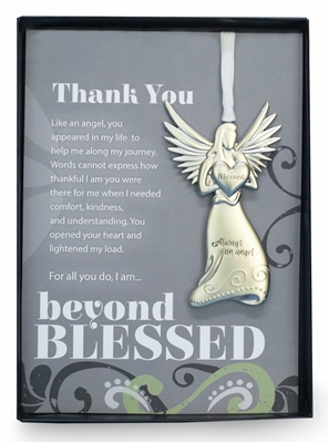 Thank you gift: Angel Ornament