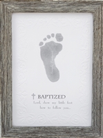 Baptized Footprint Frame