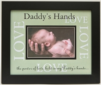 Daddys Hands Love Frame