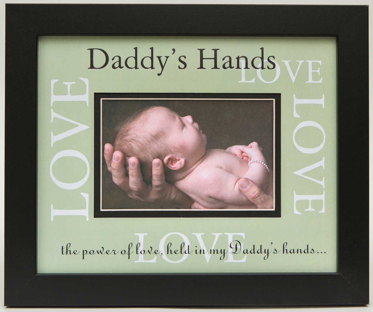 Daddys Hands 8x10 Love Frame