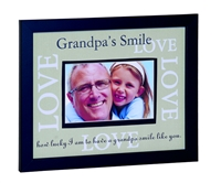 Grandpas Smile Love Frame