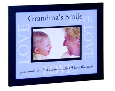 Grandmas Smile Love Frame
