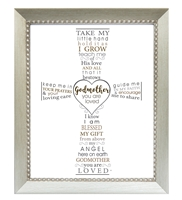 Godmother you are Loved Frame