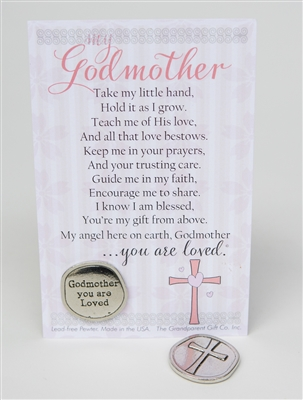 Godmother Gift: Handmade Coin