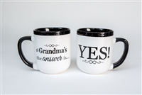 Yes Grandma Coffee Mug