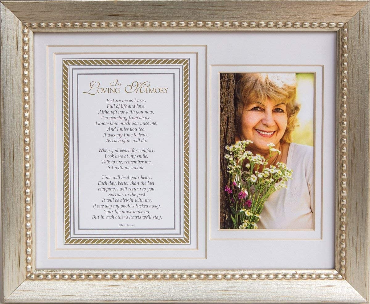 In Loving Memory Memorial Frame