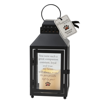 Pawprints Left by You Lantern