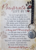 Pet Memorial Key Chain for dog or cat loss