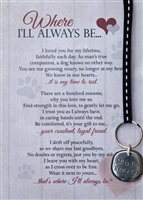 Dog Memorial Key Chain