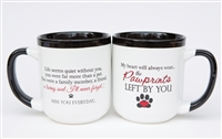 Pawprints Left by You Tea or Coffee Mug